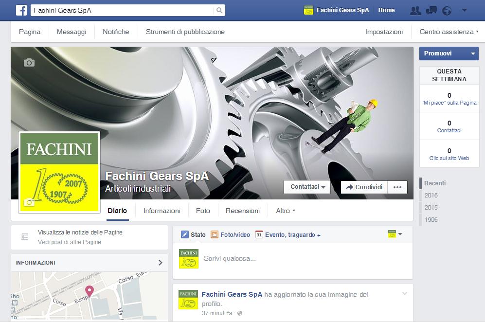 Il nostro nuovo profilo Facebook