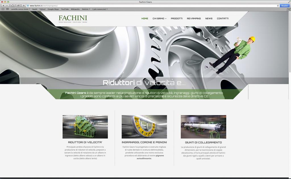 Il nuovo sito Fachini
